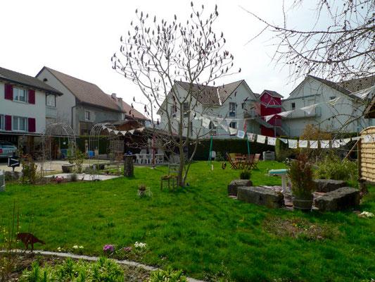 Origineller Garten in Wenslingen
