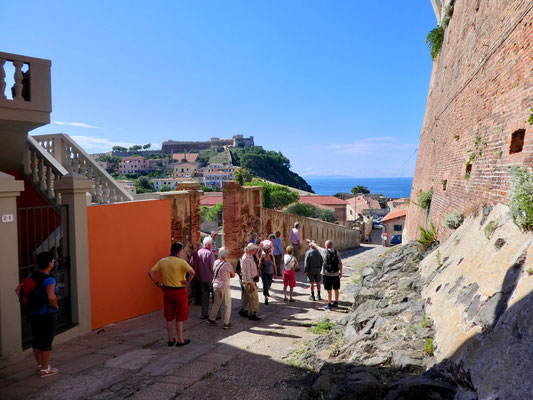 Blick auf die Forte Falcone