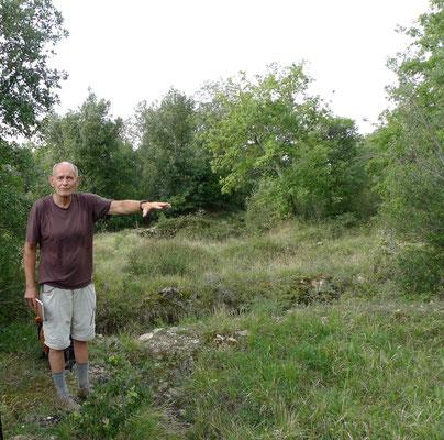 Bei den Ausgrabungen der Etrusker