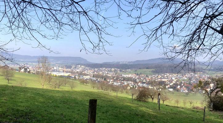 Blick über Büsserach