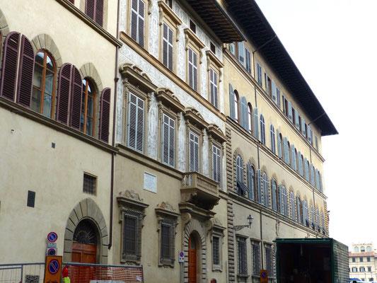 In der Mitte Palazzo Nasi, rechts Palazzo Torrigiani Del Nero
