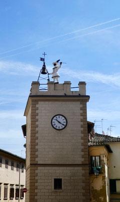 Uhrtrum di Pulcinella
