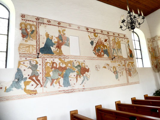 Wandmalereien aus em 15. Jahrhundert