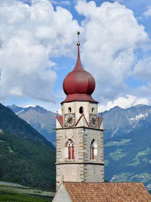Turm der Kirche