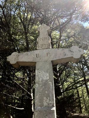 Steinkreuz beim Punkt 790