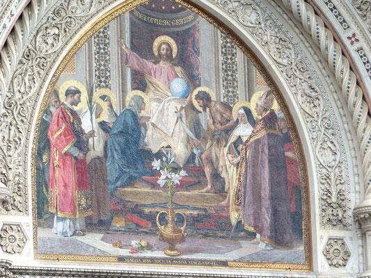 Jesus Christus Herrscher der Welt