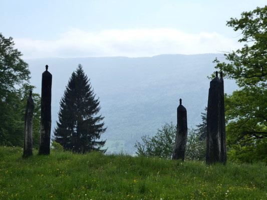 Skulpturen zum Thema Holz