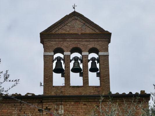Kirchturm von Chiusure