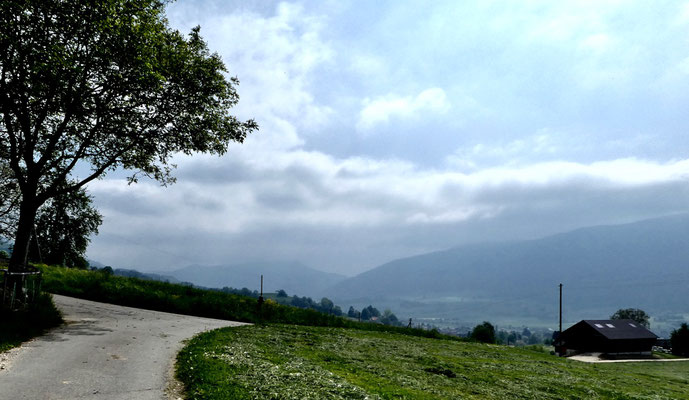 Blick Richtung Balsthal