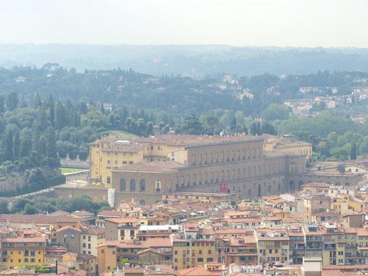 Palazzo Pitti im Süden der Stadt