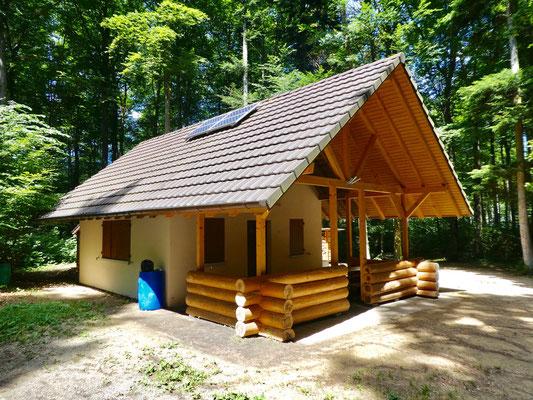 Waldhütte auf dem Chleiflüeli