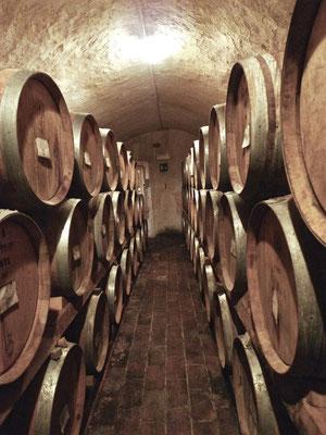 Im Keller von San Giusto
