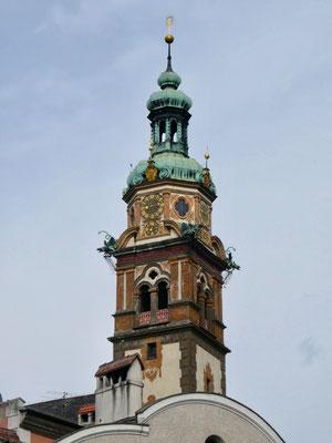 Kirchturm der Jesuitenkirche