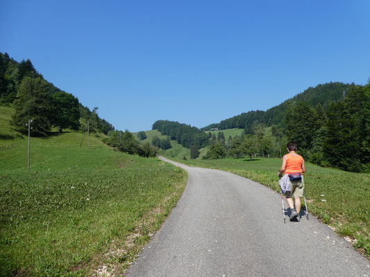 Grosser Rohrgraben Richtung Malsenberg