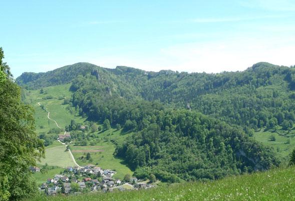 Blick über Oberdorf