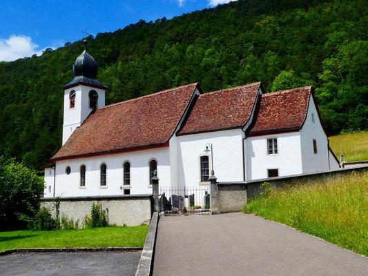 Kirche von Vermes St. Pierre et Paul