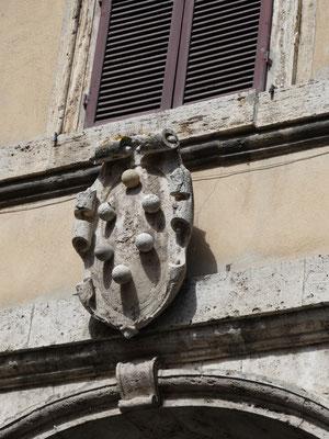 Auch hier waren die Medicis