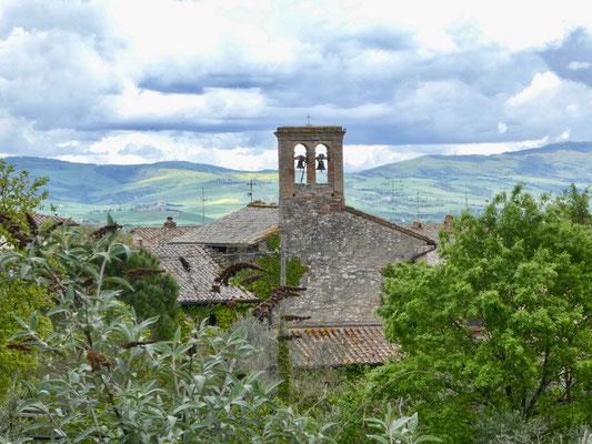 Kirche San Giovanni Battista von Bagno Vignoni