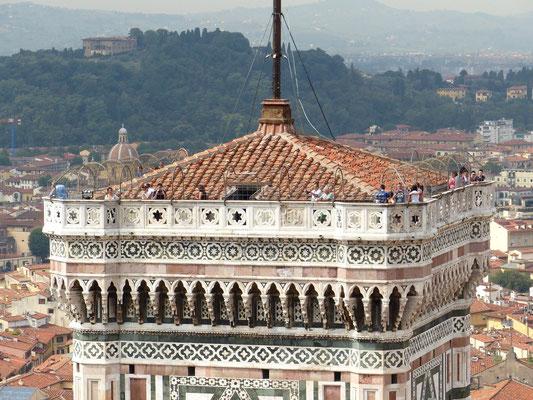 Besucherplattform des Glockenturms der Kathedrale Santa Maria del Fiore