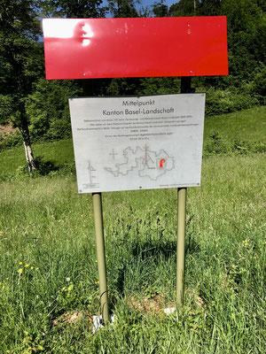 Mittelpunkt des Kanton Baselland