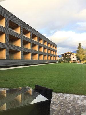 Neubau des Hotels