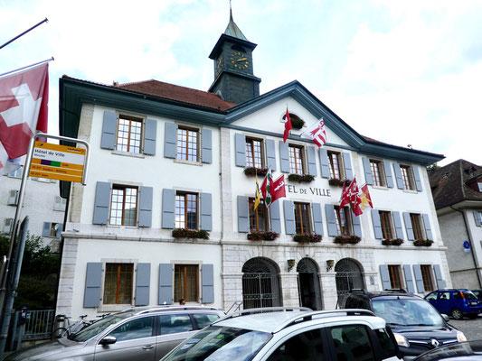 Stadthaus Moutier