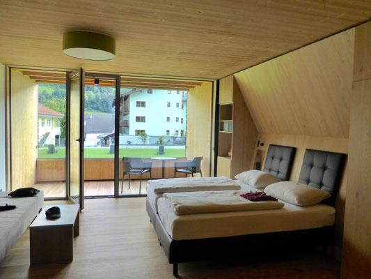 Zimmer im Neubau