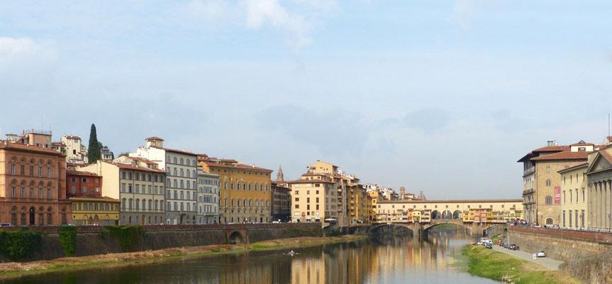 Südlicher Stadtteil östlich der Ponte Vechio