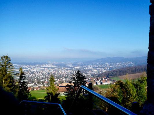 Blick über die Agio Basel