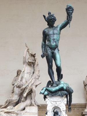 Benvenuto Cellini: Perseus mit dem Haupt der Medusa
