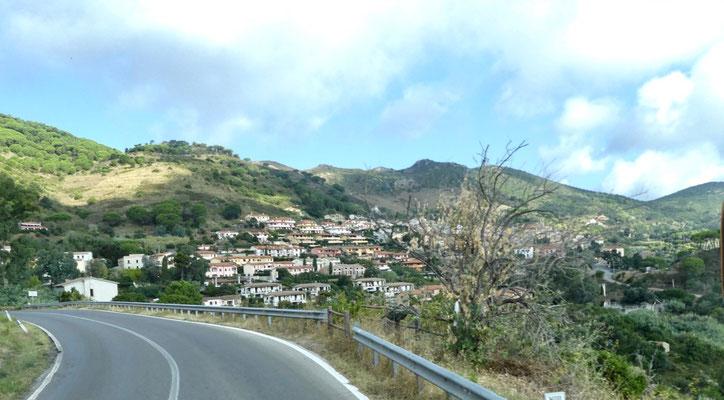 Kurz vor Rio Nell'Elba