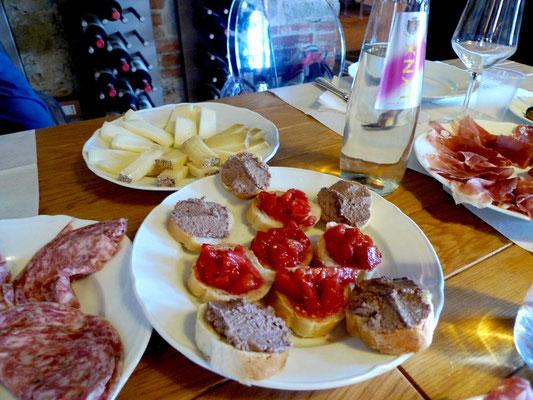 Unser Imbiss in Castagnoli