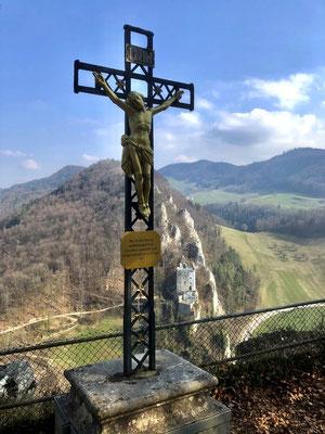 Kreuz auf dem Chrüzlifels