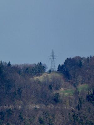 Strommast auf dem Fringeli