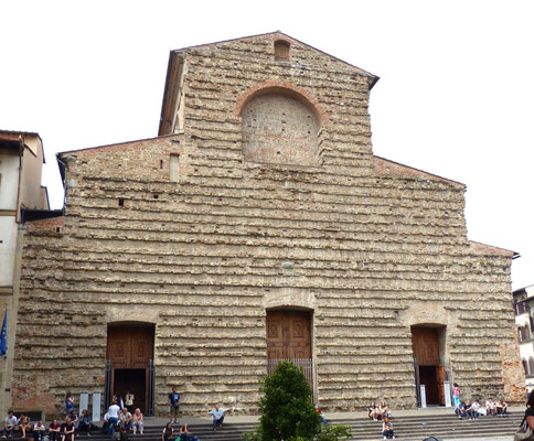 Fassade der Kirche San Lorenzo