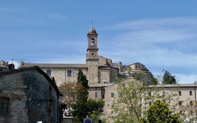 Erster Eindruck von Montepulciano