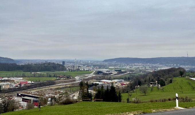Blick nach Basel