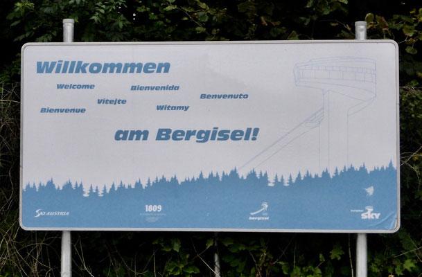 Willkommen am Bergisel