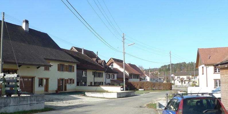 Strassenzug von Miécourt