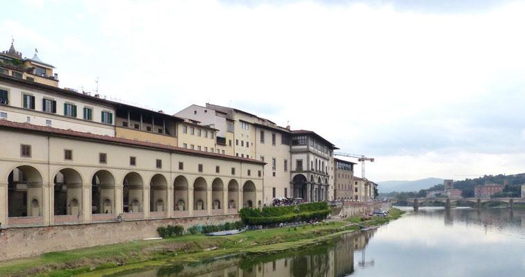 Verbindung von der Ponte Vecchio zu den Uffizien