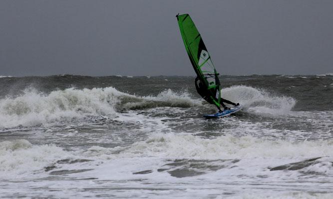 Windsurfen Agger