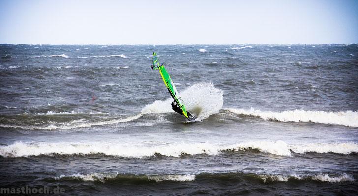 Cutback Surfen