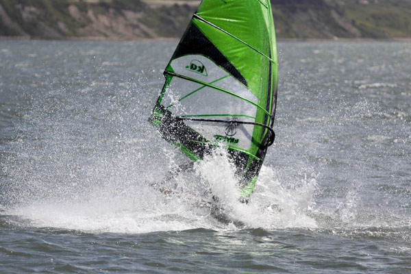 Crash Windsurfen