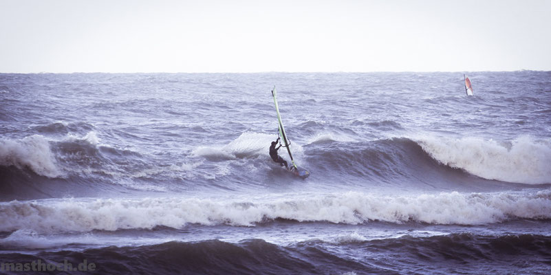 Windsurfen Welle