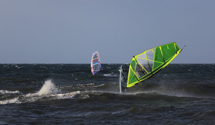 Welle Windsurfen