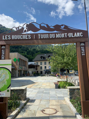 Start Tour du Mont Blanc