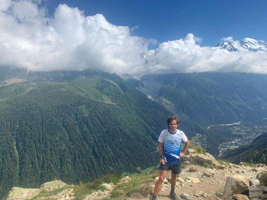 Aussiccht Tour du Mont Blanc