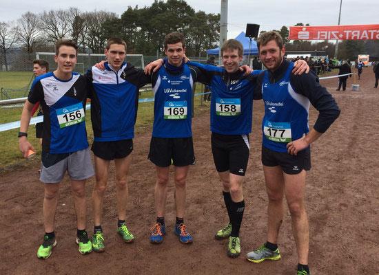 Männerteam Mittelstrecke, Foto: LGV
