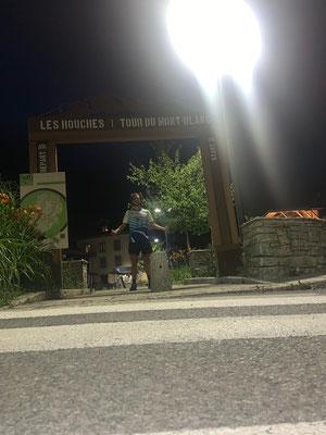 Finish Tour du Mont Blanc