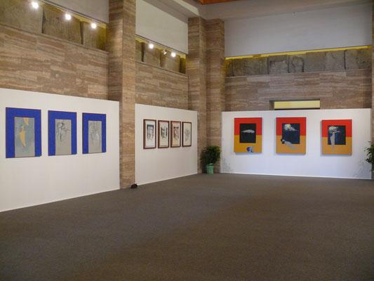"""2009 - """"Assenza Presenza"""" Museo Archeologico Nazionale di Paestum."""